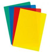 Sichthüllen A4 120 my farbig sortiert 100 Stück