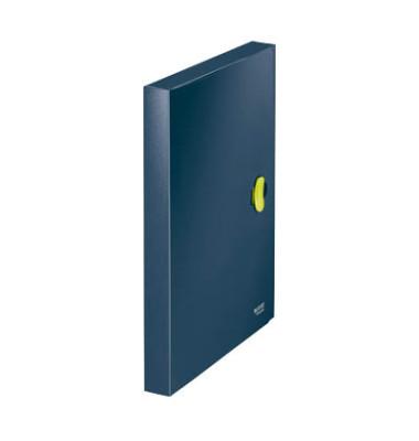 Sammelmappe re:cyle 4623-00-69, A4 Kunststoff, für ca. 250 Blatt, blau