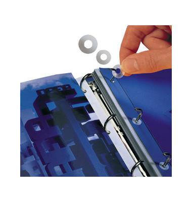 Lochverstärkungsringe aus PP/8214-500 transparent Polypropylen Inh.500