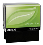 Textstempel Green Line Printer 40 6 Zeilen selbstfärbend ohne Logo