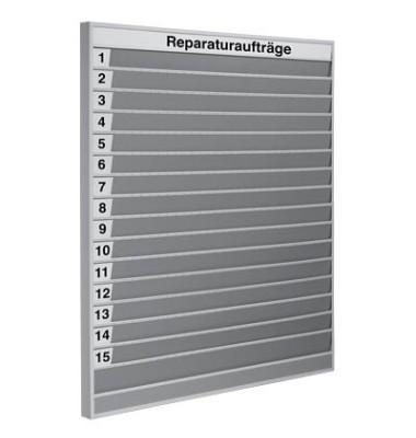 Planungstafel 157,5 x 7,6 x 175,0 cm (BxTxH) für DIN A4