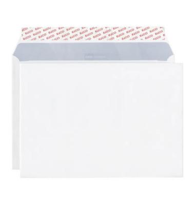 Versandtaschen Office C4 ohne Fenster haftklebend 120g weiß 50 Stück Öffnung an der langen Seite