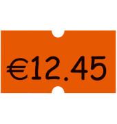 Preisetiketten 9420349, 22x12mm, leuchtorange permanent, 54.000 Etiketten