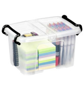 Aufbewahrungsbox 6,0 l, 30,5 x 22,4 x 18,2 cm (BxTxH)