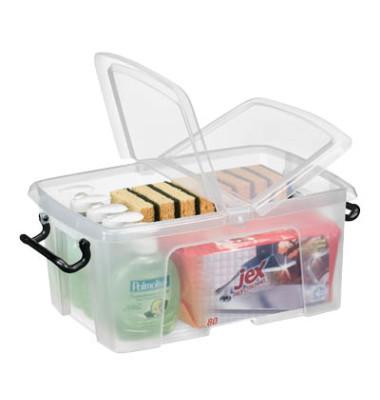 Aufbewahrungsbox 12,0 l, 40,5 x 29,5 x 18,3 cm (BxTxH)