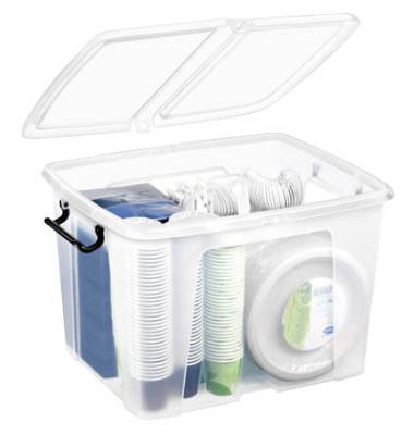 Aufbewahrungsbox 40,0 l, 49,8 x 39,7 x 20,2 cm (BxTxH)