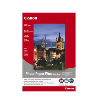 Inkjet-Fotopapier 10x15cm SG-201 Plus seidenmatt 260g 50 Blatt
