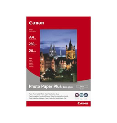 Inkjet-Fotopapier A4 SG-201 Plus seidenmatt 260g 20 Blatt