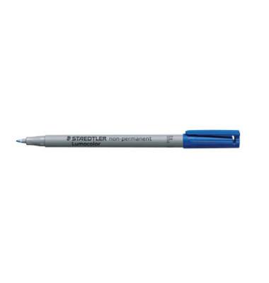 Folienstift F blau 0,6 mm non-permanent