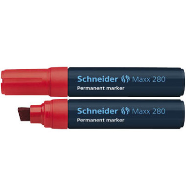 Permanentmarker Maxx 280 rot 4-12mm Keilspitze