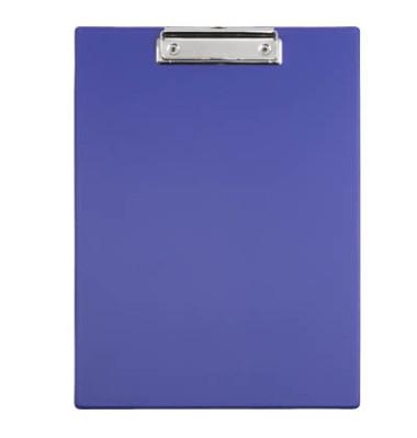 Klemmbrett 233-52-37 A4 blau 230x320mm Kunststoff mit Aufhängeöse
