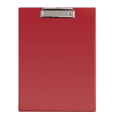 Klemmbrett 233-52-25 A4 rot 230x320mm Kunststoff mit Aufhängeöse