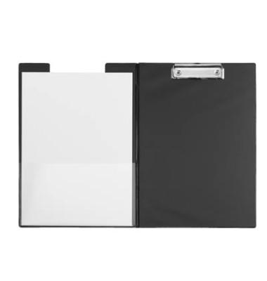 Klemmbrettmappe 233-92-90 A4 schwarz 229x320mm Kunststoff mit Aufhängeöse