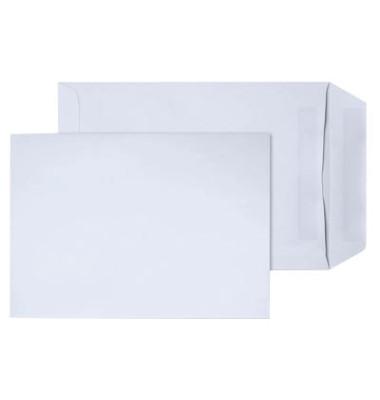 Versandtaschen B5 ohne Fenster selbstklebend 90g weiß 250 Stück