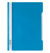 Schnellhefter 9792573 A4 hellblau PP Kunststoff kaufmännische Heftung bis 150 Blatt 10 Stück
