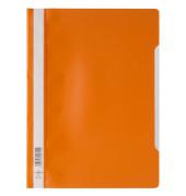 Schnellhefter 9792573 A4 orange PP Kunststoff kaufmännische Heftung bis 150 Blatt 10 Stück