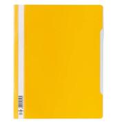 Schnellhefter 2570 A4+ überbreit gelb PVC kaufmännische Heftung bis 200 Blatt 50 Stück
