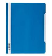 Schnellhefter 2570 A4+ überbreit blau PVC kaufmännische Heftung bis 200 Blatt 50 Stück