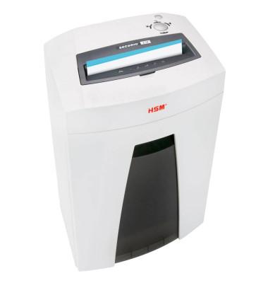 Aktenvernichter SECURIO C18 weiß Partikelschnitt 1,9x 15mm bis 7 Blatt