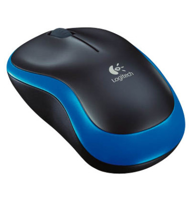 Wireless Mouse M185 blau