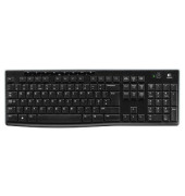 Tastatur Wireless Keyboard K270 USB Funk schwarz