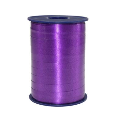 Geschenkband Ringelband 10mm x 250m violett