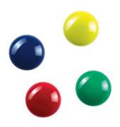 Magnete rund 2cm farbig sortiert 12 Stück