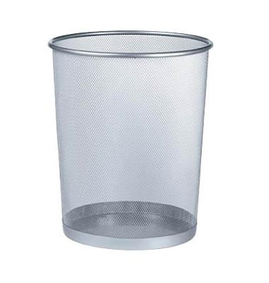Drahtpapierkorb 17,5 Liter aluminium