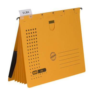 Personalhefter chic ULTIMATE A4 gelb 5-teilig 5 Stück