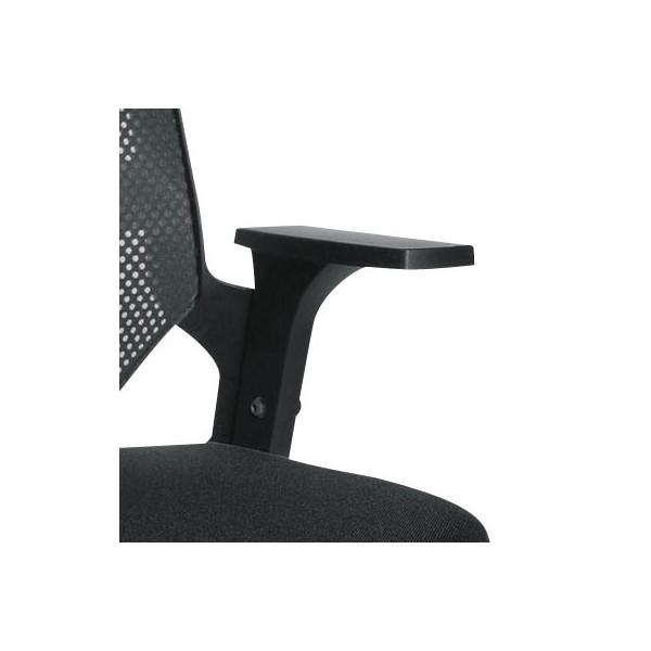 topstar kunststoff armlehnen h henverstellbar schwarz. Black Bedroom Furniture Sets. Home Design Ideas