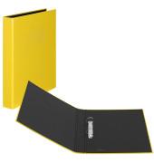 Ringbuch Basic A4 gelb 2-Ring Ø 25mm