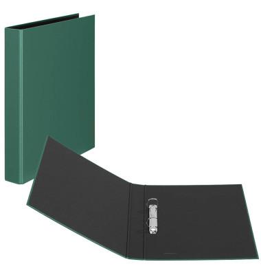 Ringbuch Basic A4 grün 2-Ring Ø 25mm