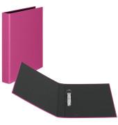 Ringbuch Basic A4 pink 2-Ring Ø 25mm