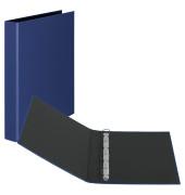 Ringbuch Basic A4 blau 4-Ring Ø 25mm