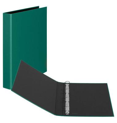 Ringbuch Basic A4 grün 4-Ring Ø 25mm