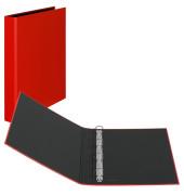 Ringbuch Basic A4 rot 4-Ring Ø 25mm
