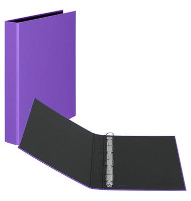 Ringbuch Basic A4 lila 4-Ring Ø 25mm