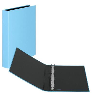 Ringbuch Basic A4 hellblau 4-Ring Ø 25mm