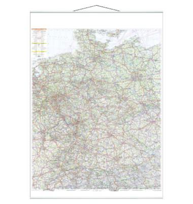 Straßenkarte Deutschland 1:750000 97x137cm