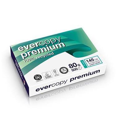 Kopierpapier Evercopy Premium A4 100% Recycled 1 Palette 100000 Blatt