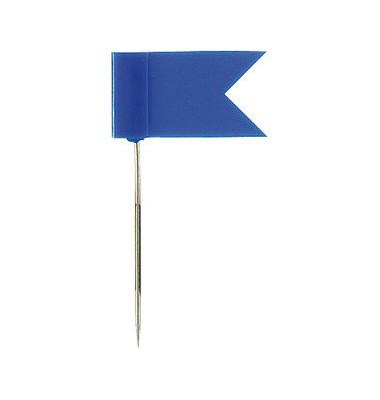 Markierfähnchen/715 blau Inh.20