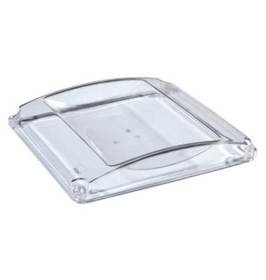 Zahlteller Standard ZB141, glasklar, 185x194x26 mm