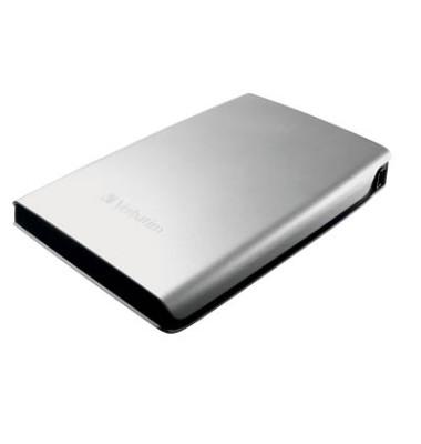 mobile Festplatte Store 'n' Go silber 1 TB