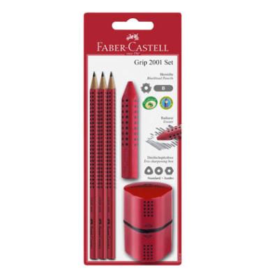 Bleistifte Set GRIP 2001 schwarz