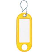 Schlüsselanhänger gelb/262103405 Inh.10