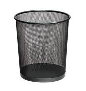 Drahtpapierkorb 12 Liter schwarz