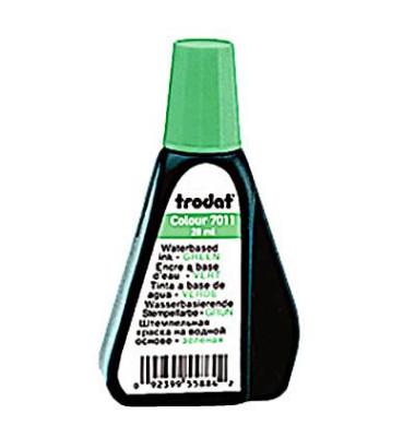 Stempelfarbe Colour 51-7011-041 ohne Öl 28ml Flasche grün
