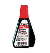Stempelfarbe Colour 51-7011-041 ohne Öl 28ml Flasche rot
