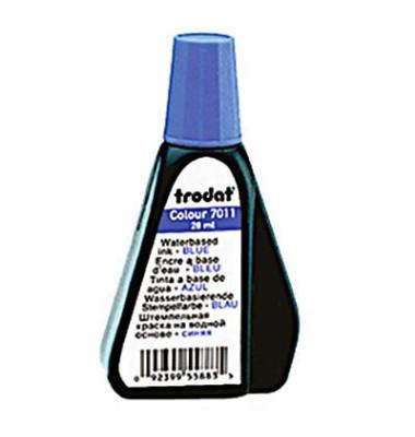 Stempelfarbe Colour 51-7011-041 ohne Öl 28ml Flasche blau