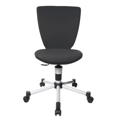 Bürodrehstuhl Titan Junior 3D ohne Armlehnen schwarz